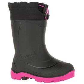 Kamik Snobuster1 Rubber Boots Kids black/magenta